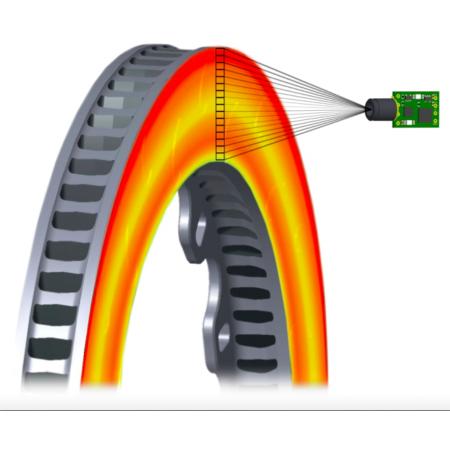 Инфракрасный датчик температуры тормозных дисков Izze-Racing (PCB)