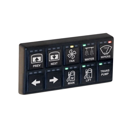 MoTeC KeyPad 8 Button