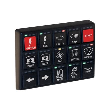 MoTeC KeyPad 15 Button